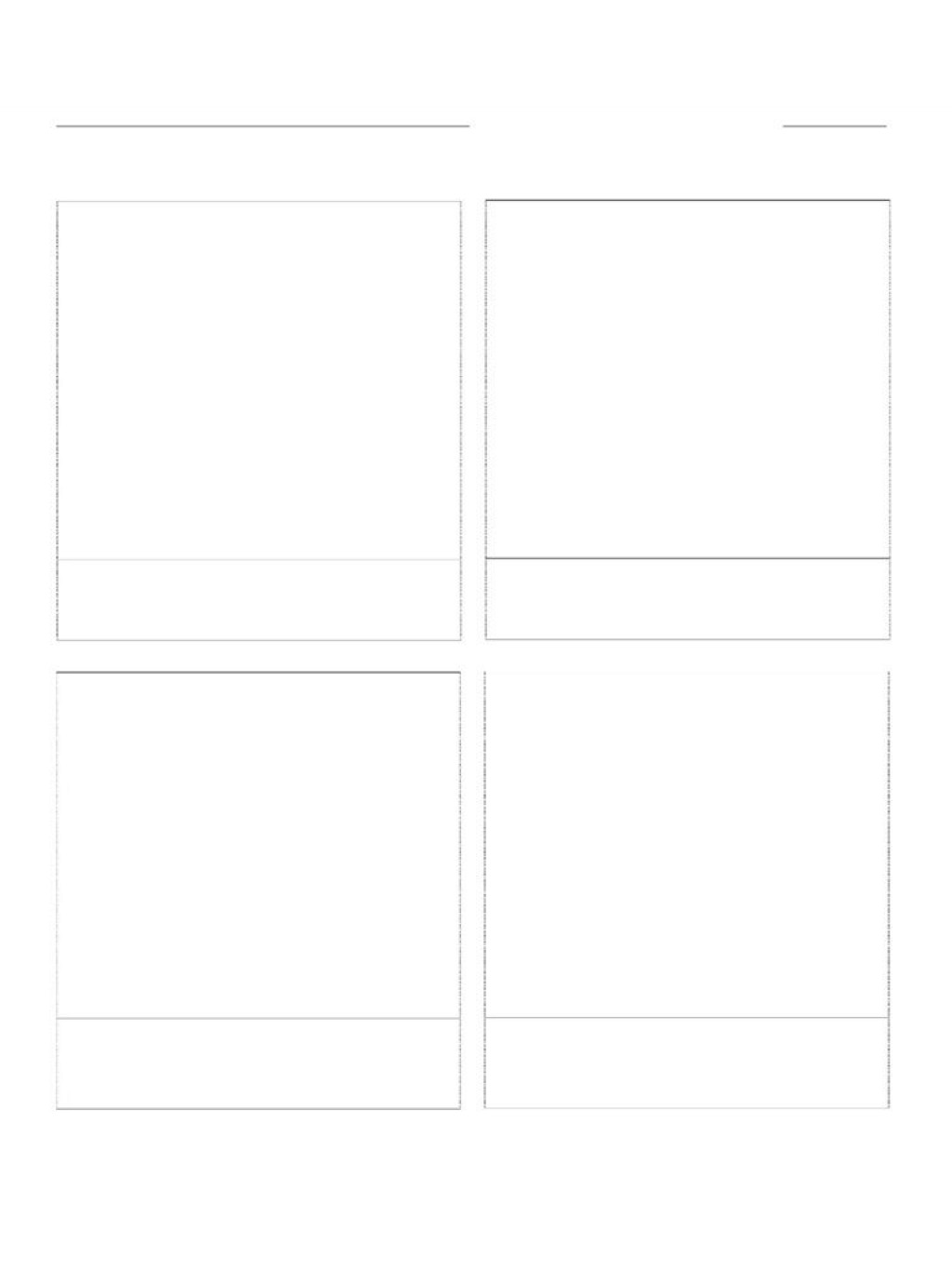 007 Amazing Comic Strip Template Word Image  Doc For Microsoft DocumentLarge