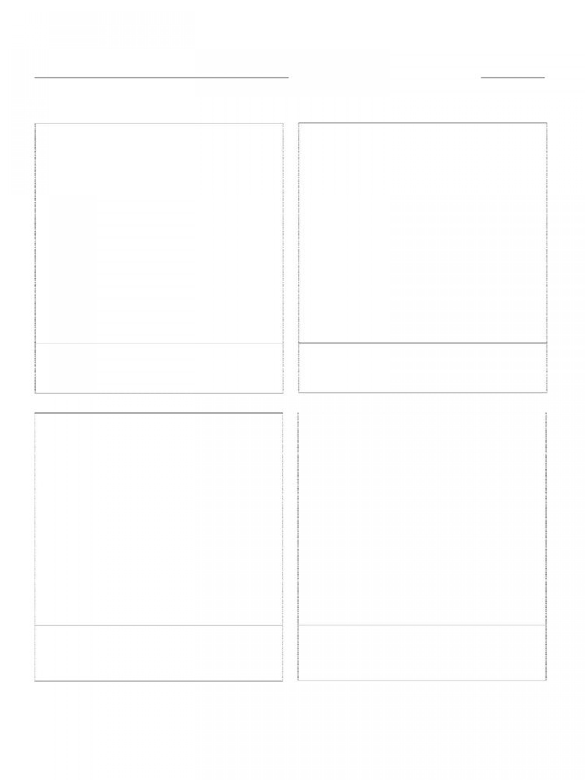 007 Amazing Comic Strip Template Word Image  Doc For Microsoft Document1920
