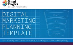 007 Amazing Digital Marketing Strategy Template Sample  2019 Pdf Doc Planning