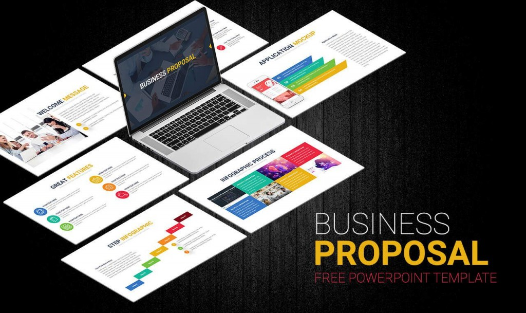 007 Amazing Free Busines Proposal Template Powerpoint Sample  Best Plan Ppt 2020 SaleLarge