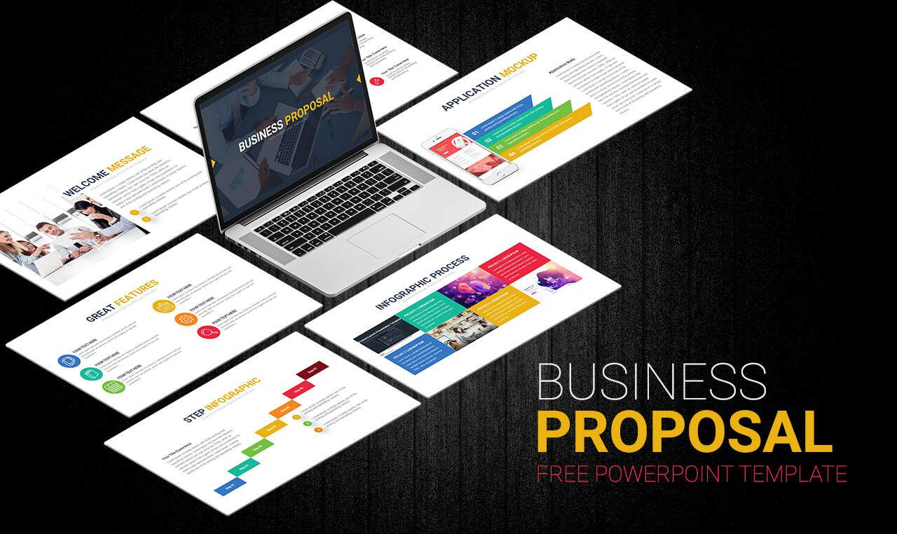 007 Amazing Free Busines Proposal Template Powerpoint Sample  Best Plan Ppt 2020 SaleFull