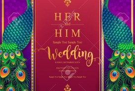 007 Amazing Indian Wedding Invitation Template Picture  Psd Free Download Marriage Online For Friend