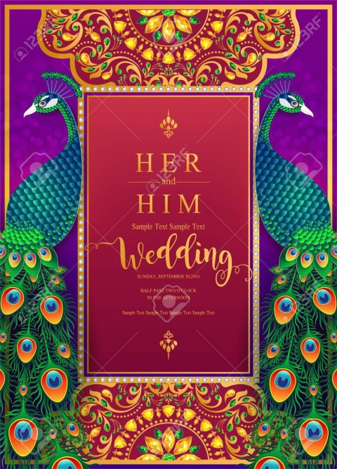 007 Amazing Indian Wedding Invitation Template Picture  Psd Free Download Marriage Online For Friend480
