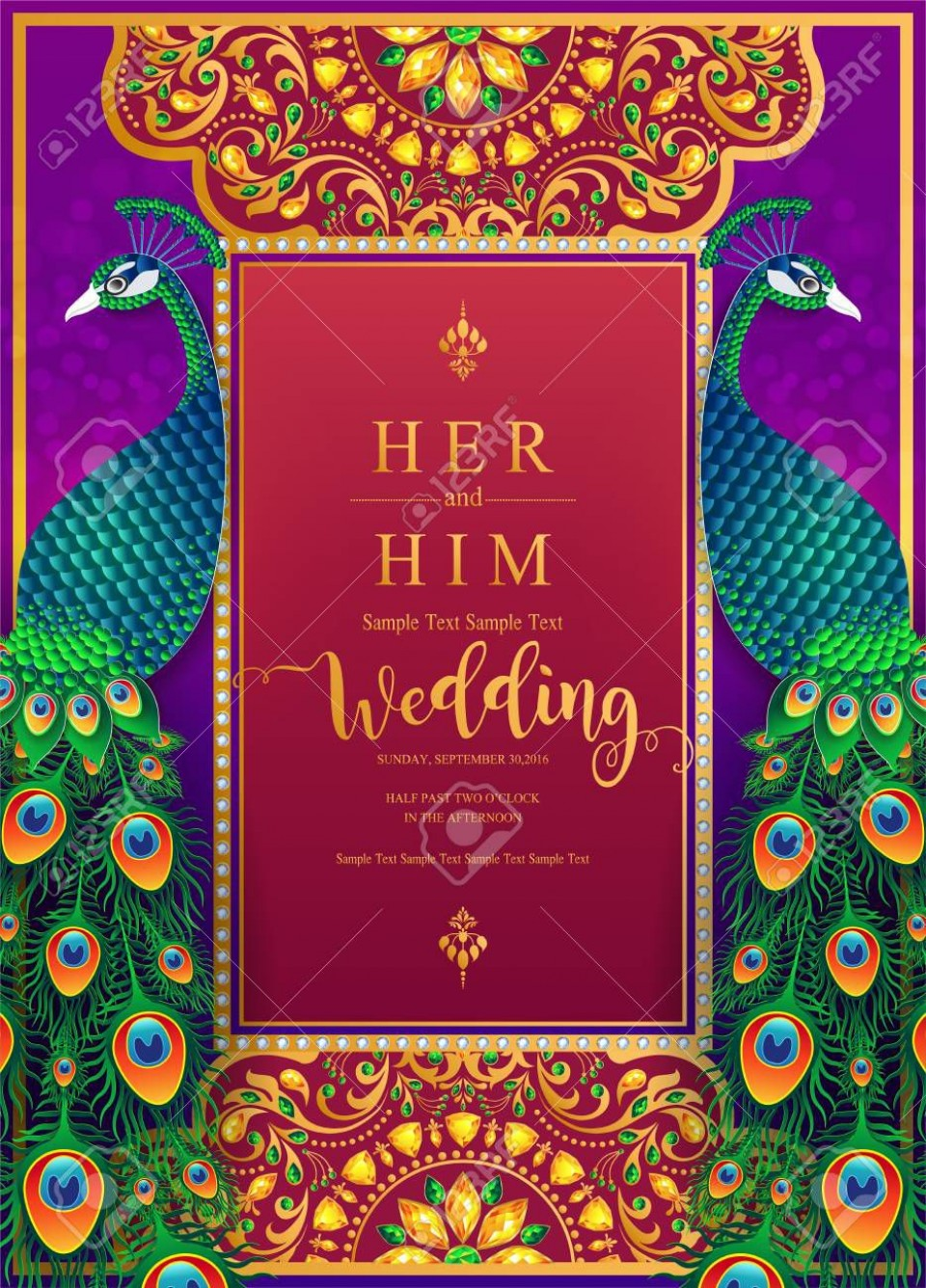 007 Amazing Indian Wedding Invitation Template Picture  Psd Free Download Marriage Online For Friend960