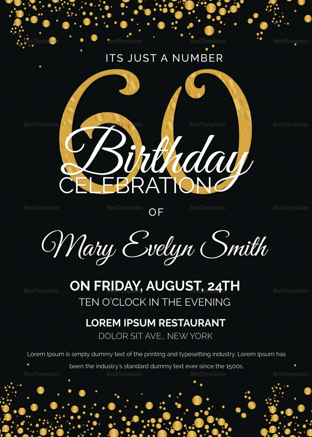 007 Amazing Microsoft Word 50th Birthday Invitation Template Example  Wedding Anniversary EditableLarge