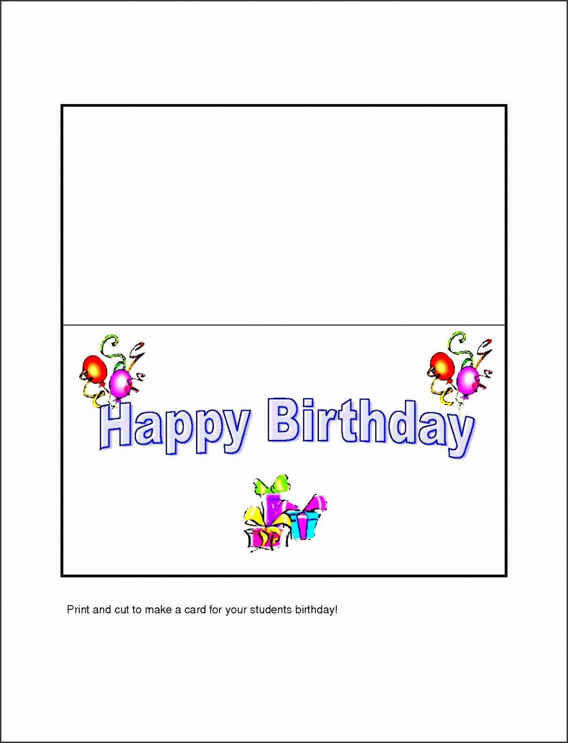 007 Amazing Microsoft Word Greeting Card Template Design  2003 Birthday Download1920