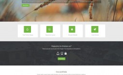 007 Amazing One Page Website Template Html5 Free Download Concept  Parallax