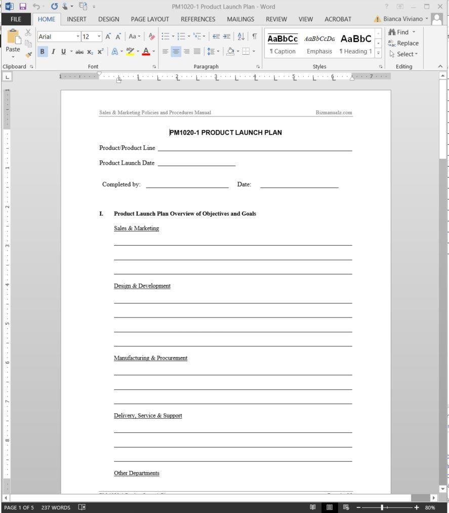 007 Amazing Product Launch Plan Template Idea  Google Sheet Ppt Free PowerpointFull
