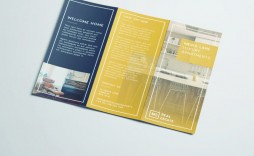 007 Amazing Tri Fold Brochure Indesign Template Example  Free A3