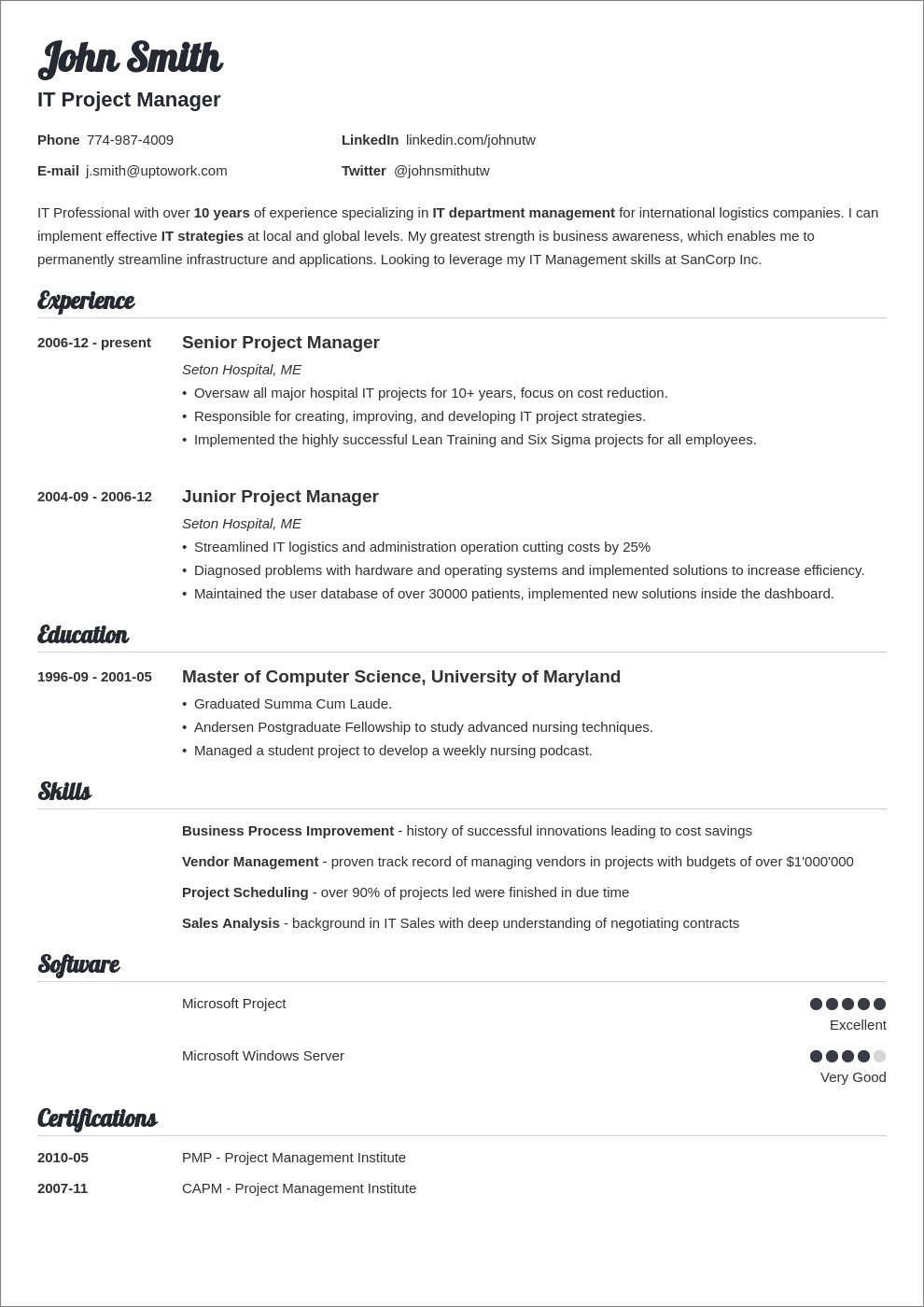 007 Archaicawful Basic Resume Template Word Example  Free Download 2020Full