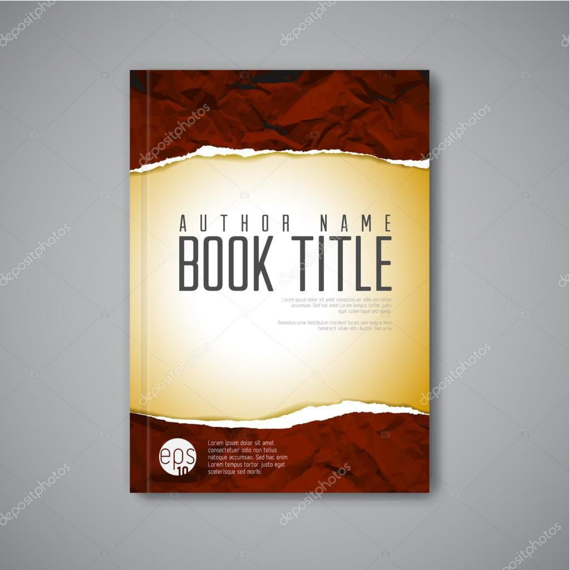 007 Archaicawful Book Front Page Design Template Free Download Photo  Cover Psd1920