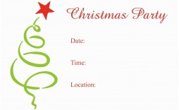 007 Archaicawful Christma Party Invitation Template Highest Clarity  Holiday Word Free Microsoft Editable