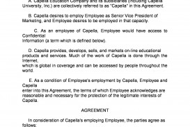 007 Archaicawful Employee Non Compete Agreement Template Highest Quality  Free Confidentiality Non-compete Disclosure
