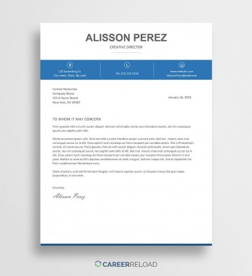 007 Archaicawful Free Download Cover Letter Sample Design  For Fresher Pdf Template360