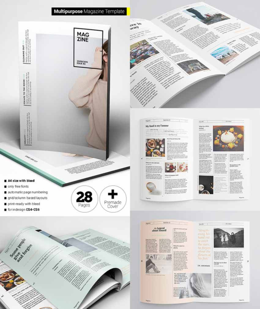 007 Archaicawful Free Magazine Layout Template High Resolution  Templates For Word Microsoft PowerpointFull