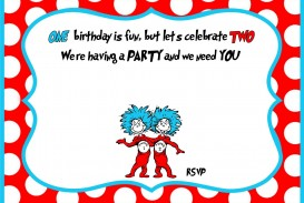 007 Archaicawful Free Online 1st Birthday Invitation Card Maker For Twin High Def