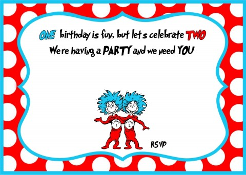007 Archaicawful Free Online 1st Birthday Invitation Card Maker For Twin High Def 480