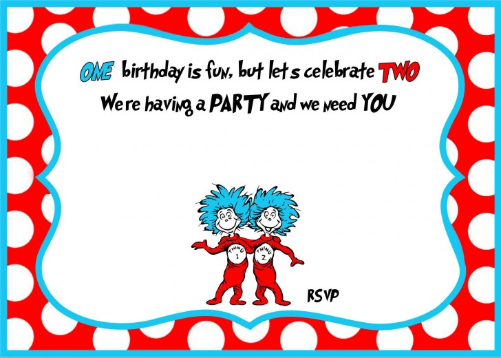 007 Archaicawful Free Online 1st Birthday Invitation Card Maker For Twin High Def 728