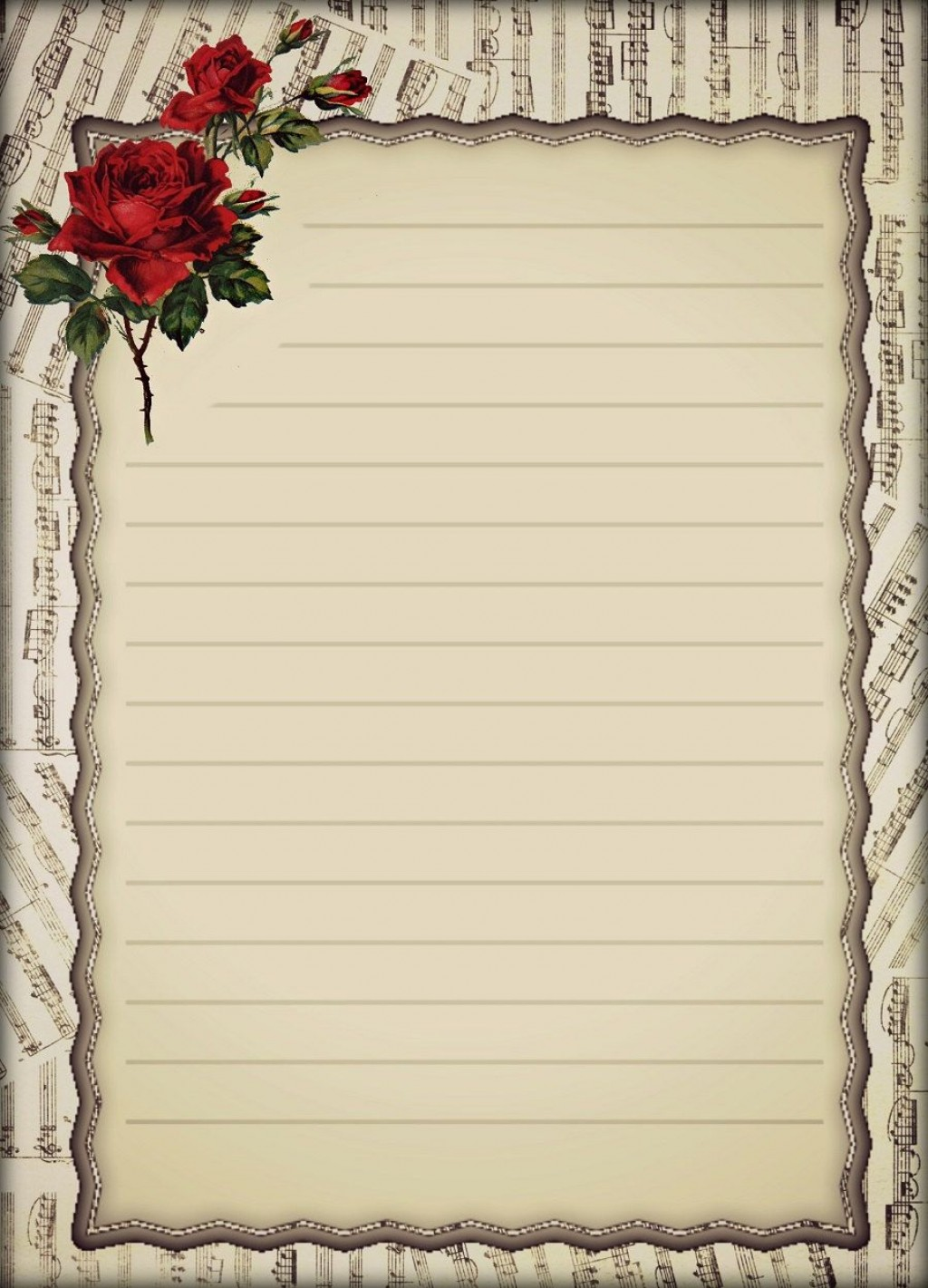 007 Archaicawful Free Printable Elegant Stationery Template Picture  TemplatesLarge