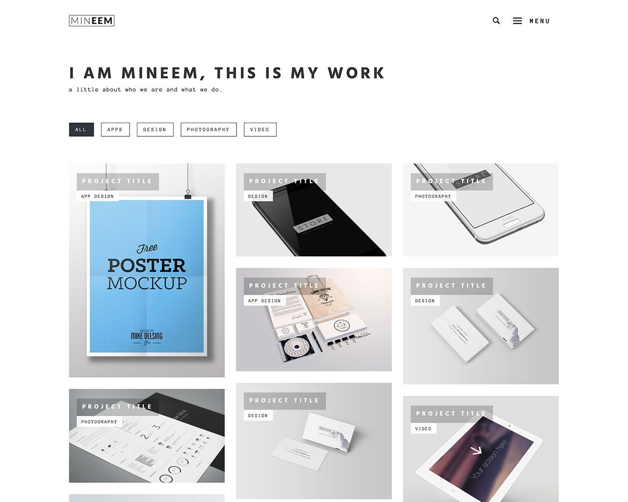 007 Archaicawful Free Responsive Portfolio Blogger Template Inspiration Full