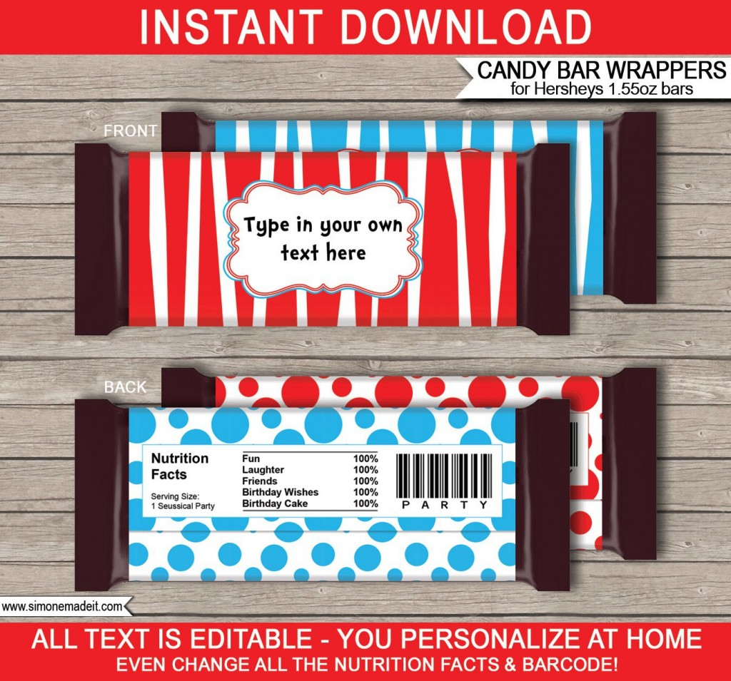 007 Archaicawful Hershey Candy Bar Wrapper Template High Definition  Free WordLarge