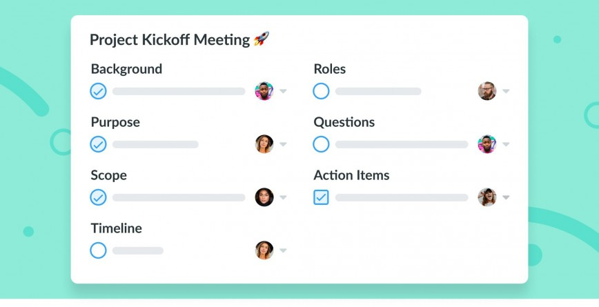 007 Archaicawful Kick Off Meeting Template Inspiration  Doc Project Presentation Manager