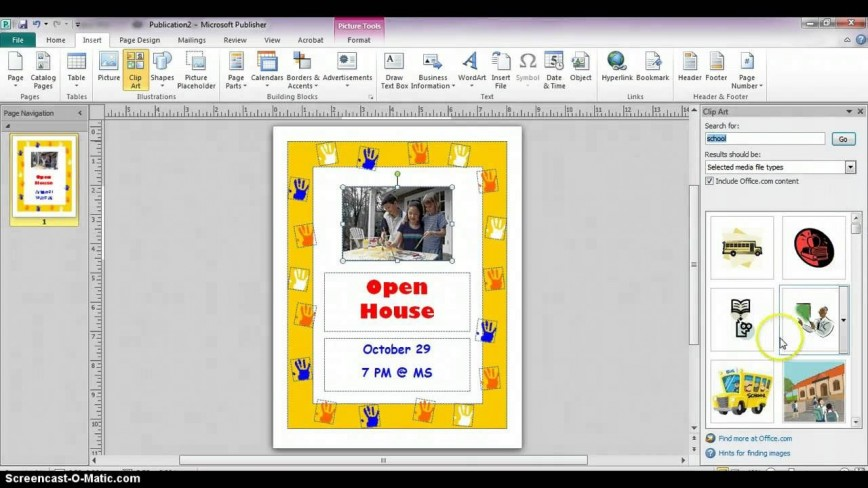 007 Archaicawful Microsoft Publisher Flyer Template Photo  Office Advertisement Design
