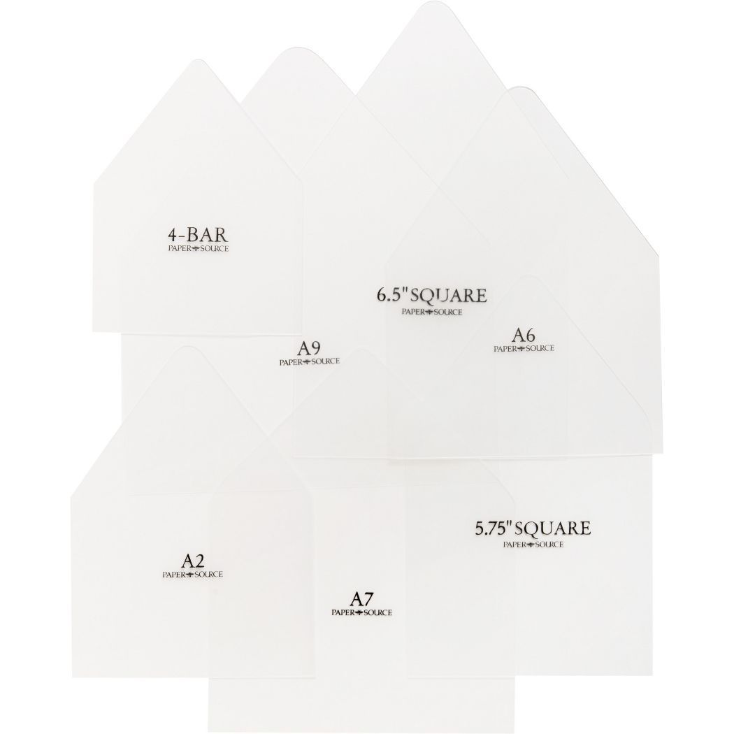 007 Archaicawful Paper Source A7 Envelope Liner Template High Definition Full
