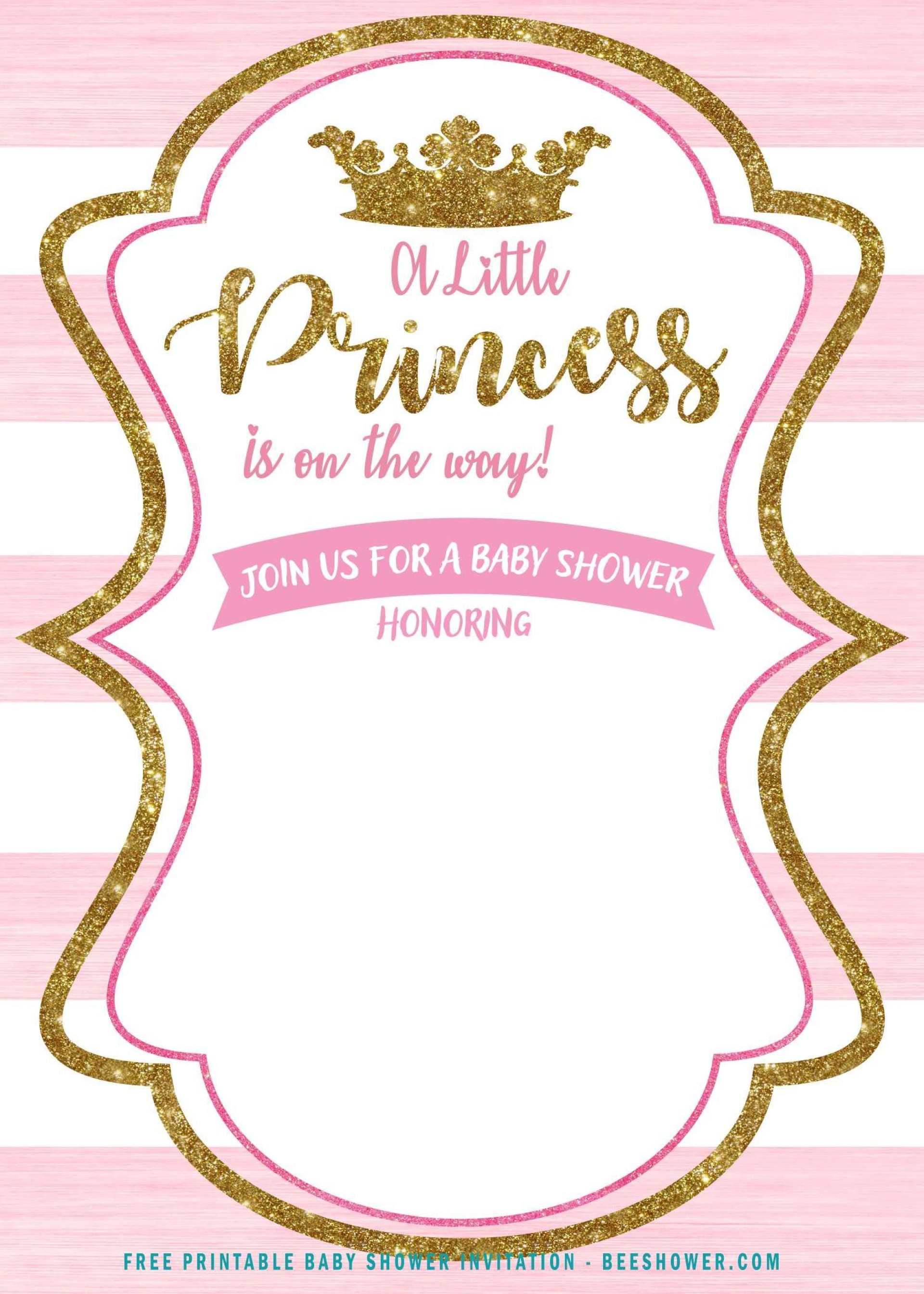 007 Archaicawful Princes Baby Shower Invitation Template Highest Clarity  Templates Little Royal Red Disney1920