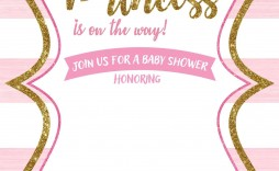 007 Archaicawful Princes Baby Shower Invitation Template Highest Clarity  Templates Little Royal Red Disney