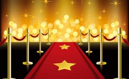 007 Archaicawful Red Carpet Invitation Template Free Sample  Download