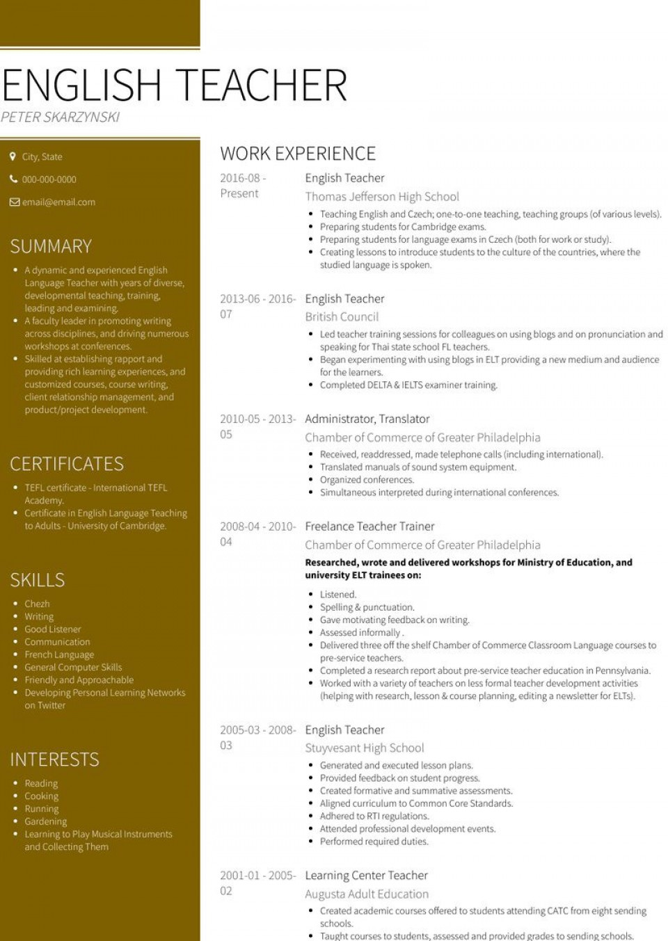 007 Archaicawful Resume Template For Teacher High Resolution  Australia Microsoft Word Sample960