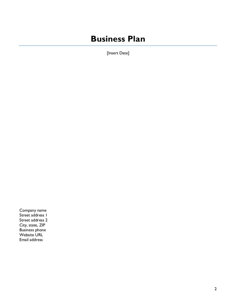 007 Archaicawful Score Deluxe Busines Plan Template Example Full