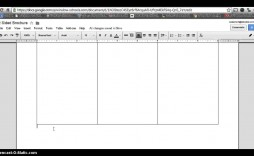 007 Archaicawful Three Fold Brochure Template Google Doc Concept  Docs