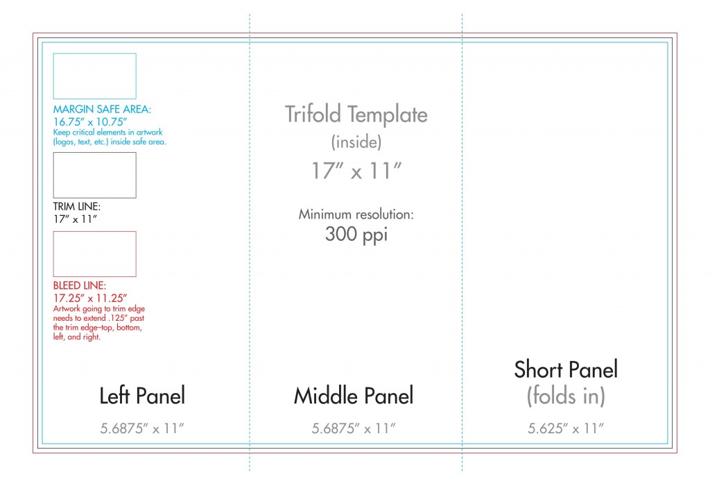 007 Archaicawful Tri Fold Pamphlet Template Concept  Brochure Free Google Doc Word 2007Large