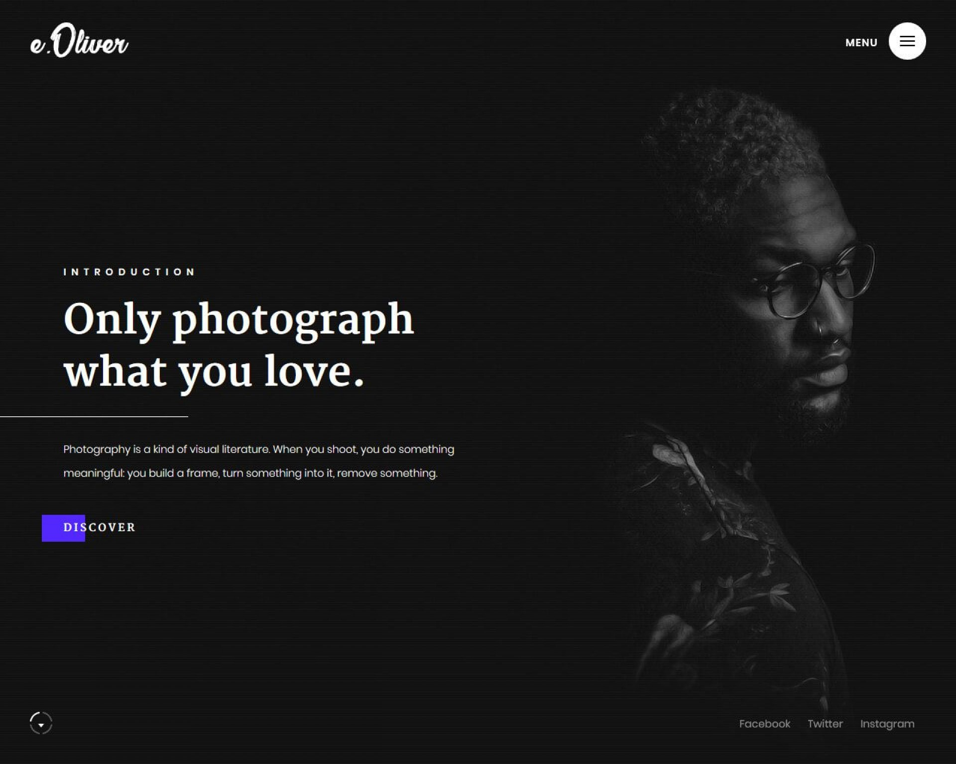007 Archaicawful Website Template For Photographer Idea  Photographers Free Responsive Photography Php Best1920
