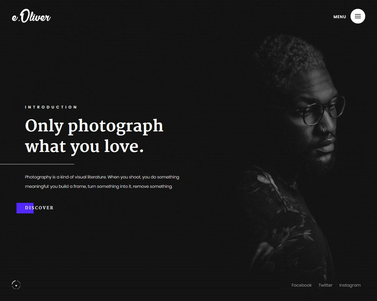 007 Archaicawful Website Template For Photographer Idea  Photographers Free Responsive Photography Php BestFull