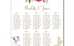 007 Archaicawful Wedding Seating Chart Template Excel Image  Microsoft Table Plan