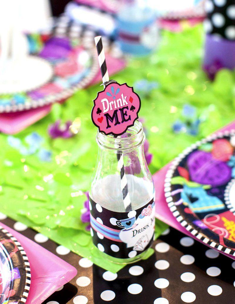 007 Astounding Alice In Wonderland Tea Party Template High Def  Templates Invitation FreeFull