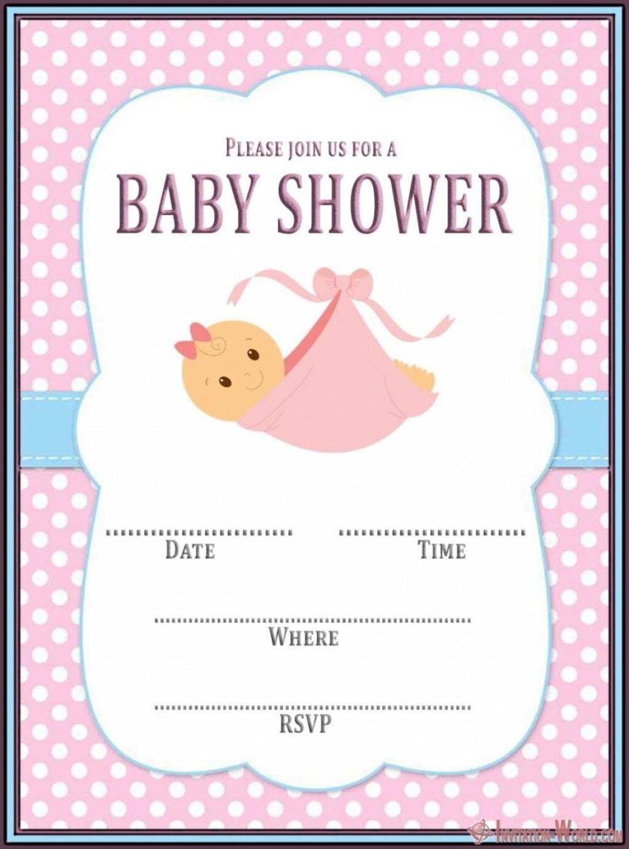 007 Astounding Free Baby Shower Invitation Template Editable High Resolution  Digital Microsoft WordLarge