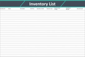 007 Astounding Free Excel Stock Inventory Template Design  Simple