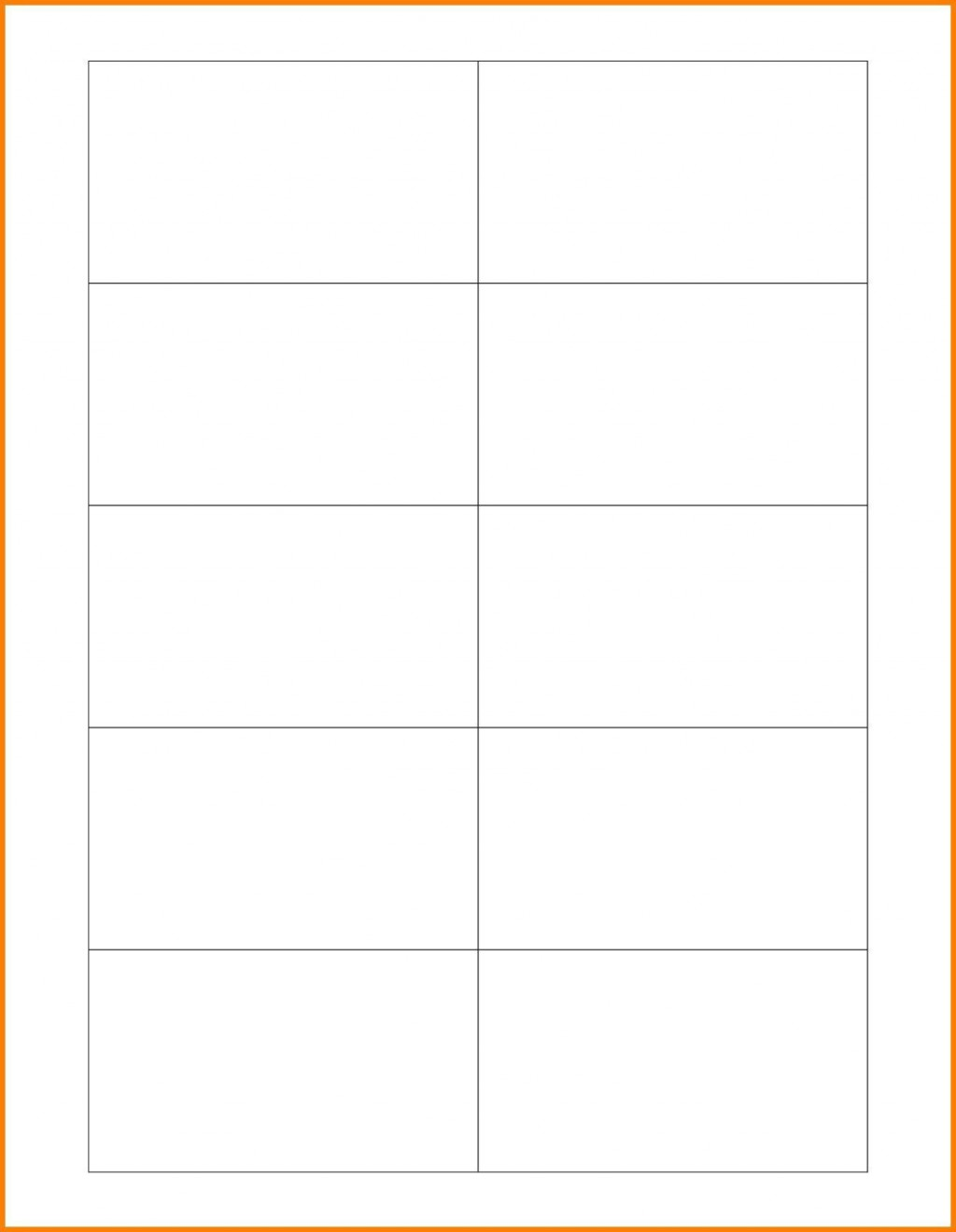 007 Astounding Free Printable Blank Busines Card Template For Word Example Large