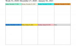 007 Astounding Google Doc Weekly Calendar Template 2021 Sample  Free