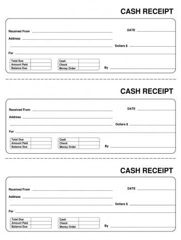 007 Astounding Invoice Template Pdf Fillable Photo  Free Cash Receipt Commercial360