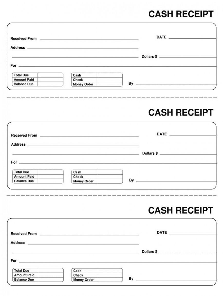 007 Astounding Invoice Template Pdf Fillable Photo  Free Cash Receipt Commercial868