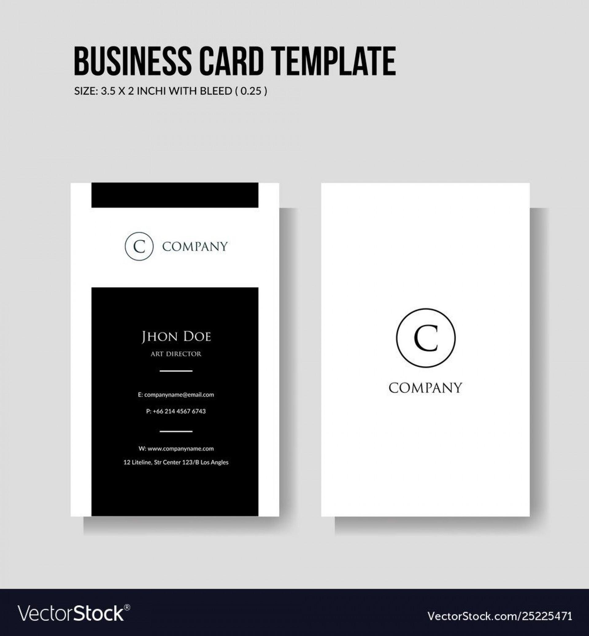 007 Astounding Minimalist Busines Card Template Free Idea  Minimal Psd1920