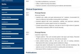 007 Astounding Nursing Student Resume Template Example  Free Word