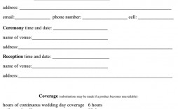 007 Astounding Photography Contract Template Pdf High Def  Free Portrait