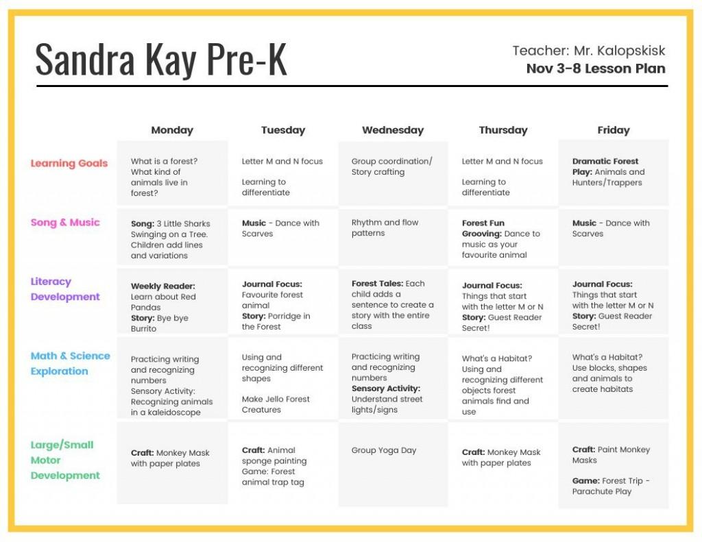 007 Astounding Preschool Weekly Lesson Plan Template High Resolution  Editable Pdf WordLarge