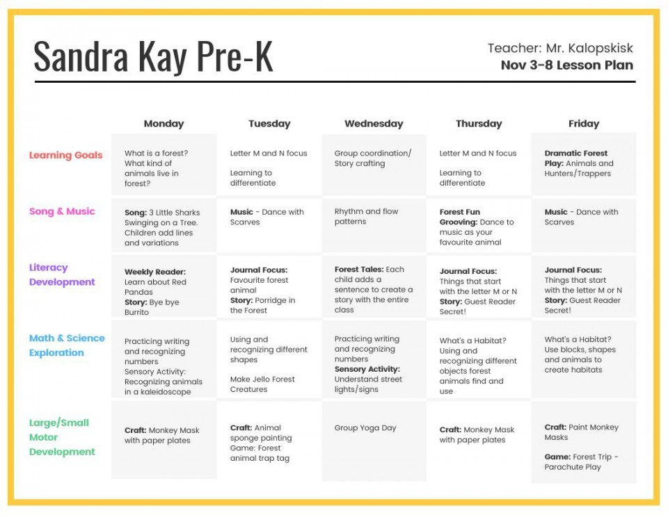 007 Astounding Preschool Weekly Lesson Plan Template High Resolution  Pdf Sample Free Printable960